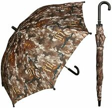 "32"" Children Kid Cowboy Western Umbrella - RainStoppers Rain/Sun UV"