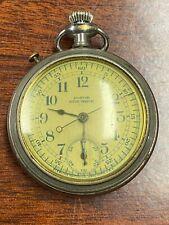 Antique Pocket Stop Watch Pastor Working