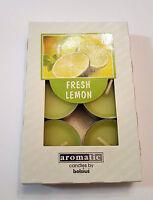 Duftteelicht / Teelichter Limone / Lemon 6 er Packung Kerze von Bolsius