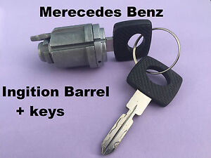 Suitable for Mercedes Benz W124 W201 Ignition barrel and keys 300E 300D 180E