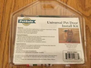 NEW!! PETSAFE Universal Pet Door Install Kit (PAC11-10863) - 100% to Pet Shelter