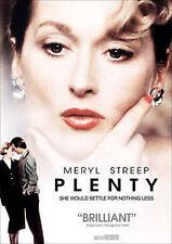 Plenty DVD (2010) Streep, Meryl; Charles Dance; Tracey Ullman; John Gielgud...