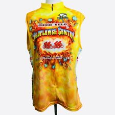 Wildflower Century Cycling Shirt 2XL Womens Voler Club Raglan Chico Velo Yellow