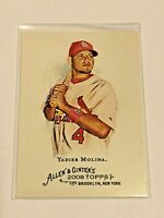 2008 Topps Allen & Ginter Baseball #263 - Yadier Molina - St. Louis Cardinals