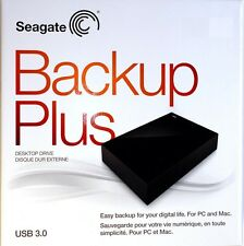 "Seagate BackUp Plus Desktop 3.5"" USB 3.0 Enclosure External SATA Drive Case New"