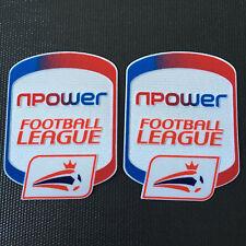 NPower FOOTBALL LEAGUE 2010 - 2013 soccer football Patch Distintivo di feltro Camicia Set