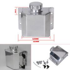 Universal Vehicle Aluminium Coolant Tank 1000ml (1L) Oil Catch Can Breather Tank
