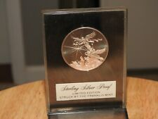 1973 Franklin Mint Christmas Sterling Silver Coin