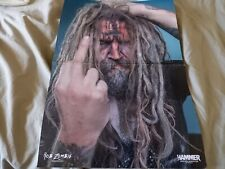 More details for rob zombie / king diamond - a3 size double page double sided poster