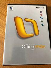 Microsoft Office Mac 2004 al por menor de actualización con la clave de producto