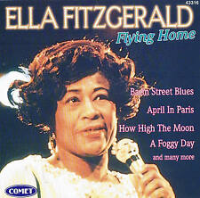 "Ella Fitzgerald ""Flying Home ""Top Álbum ! CD 12 TRACKS NUEVO Y EMB. orig. COMET"