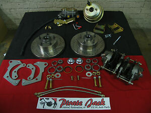 1965-68 Chevy Impala High Performance Disc Brake Kit With Power Brake Conversion