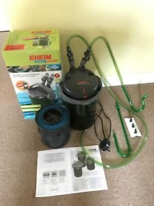 Eheim Ecco pro 200 external canister filter, used