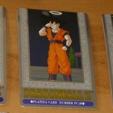 DRAGON BALL Z DBZ HERO COLLECTION PART 3 PLATINA CARD PRISM CARTE PC-20 MINT