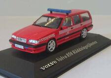 """wonderful ATLAS-modelcar VOLVO 850 """"RÄDDNINGSTJÄNSTEN"""" 1993 - red - 1/43"""