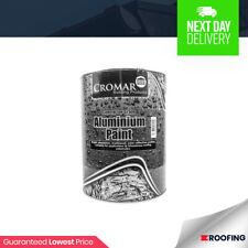 Cromar Aluminium Solar Reflective Paint  Heat Resistant  Roof Protection   2.5l