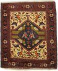 Handmade Vintage Tribal 2'6X3'0 Farmhouse Oriental Area Rug Wool Decor Carpet