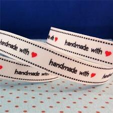 Unbranded Polyester White Ribbons & Ribboncraft