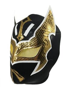SIN CARA (pro-fit) Lucha Libre Mexican Wrestling Luchador Adult Costume Mask BLK