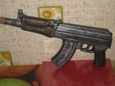 Big Russian Ceramic Bottle Gift Souvenir 1 L Vodka Form AKM Kalashnikov RARE