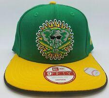 Oakland Athletics MLB New Era 9Fifty 2Tones Snapback Hat - Green/Yellow