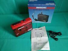 Raro WALKMAN Cassette Player HARMONIC C899 Stereo Sound Vintage GIACENZA NUOVA !