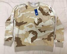 Adidas Originals Camo Crewneck Sweatshirt Pullover Mens Sz Medium ED6982 NEW!!!