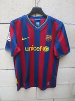 Maillot F.C BARCELONE BARCELONA Nike Unicef camiseta shirt 13 15 ans XL kid XS