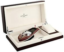 NEW Frederique Constant Runabout Series Wooden Watch Box with Boat