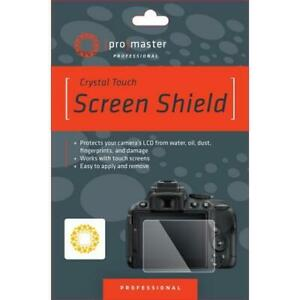 ProMaster Crystal Touch Screen Shield For Nikon D750 4282