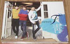 INFINITE F 靑 1ST SINGLE K-POP CD + 2 PHOTOCARD SEALED