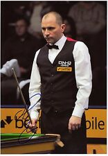 JOE PERRY - Signed 12x8 Photograph - SNOOKER