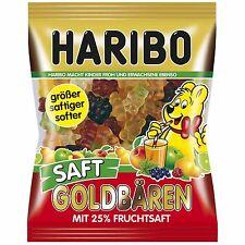 Made in Germany-Haribo Goldbaren JUICE gummy bears-175g-