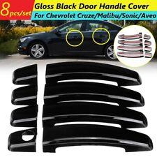 4Door Handle Cover Gloss Black For Chevrolet Cruze Malibu Aveo Volt Sonic Camaro