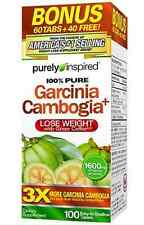TRIPLE Strength Garcinia Cambogia Green Coffee Bean Weight Loss Diet Pill 100 ct