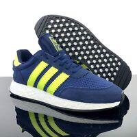 ADIDAS I-5923 Men's Running Shoes Dark Blue / Solar Yellow Volt F34270 PICK SIZE