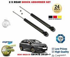 FOR SEAT IBIZA ST ESTATE MODEL MK4 2010-> NEW 2X REAR SHOCK ABSORBER SET