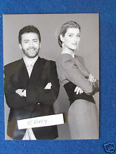 "Original Press Photo - 8""x6"" - Selina Scott & Jeff Banks -The Clothes Show -1986"