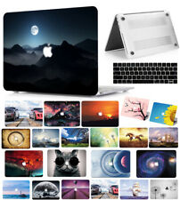 """Hard Case Shell+Keyboard Cover for Macbook Pro 13/15"""" Air 11/13"""" Inch Touch Bar"""