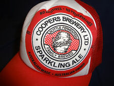 Coopers Brewery Snapback Cap Australian Sparkling Ale Trucker Baseball Hat