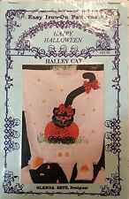 Iron-on Pattern Cat Halley Cat Craft Halloween Fall