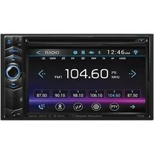 Power Acoustik PD-624B 6.2in Double-DIN In-Dash LCD Touchscreen DVD Receiver