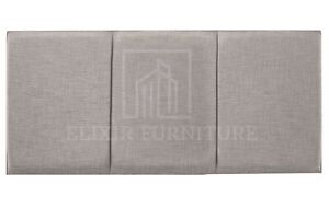 """Headboard  Turin Fabric 20""""  OSLO  Upholstered Bed - All Sizes & Colours"""