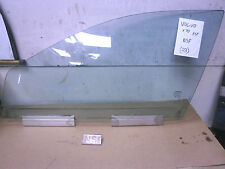 VOLVO V70 2000-2007 MK2 NEARSIDE PASSENGER SIDE FRONT DOOR WINDOW GLASS