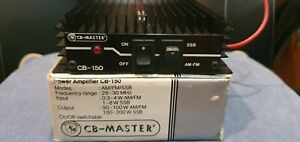 CB-Master CB 150  Linear Amplifier HF, SSB,  AM, CW and FM