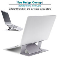 Adjustable Invisible Portable Folding Laptop Stand Holder Folding for MacBook US