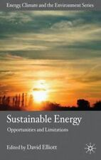Energy, Climate and the Environment: Sustainable Energy : Opportunities and...