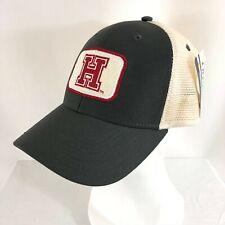 Harvard Crimson Cap Hat NCAA Ouray Adjustable Gray Beige Adult One Size