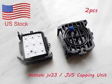 2X New Cap capping top for Mimaki JV33 JV5 Printer DX5 Print head solvent