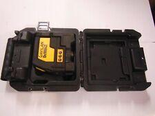 dewalt DW0822 cross line / plumb spot combination laser